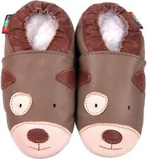 shoeszoo puppy tan 12-18m S soft sole leather baby shoes