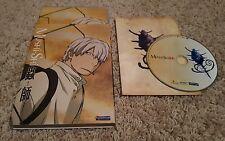 Mushi-Shi Volume 2 (DVD) anime Funimation Episodes 6-10 Kodansha MMV RARE OOP