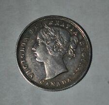1858 Canada 20 Cents (G372e)