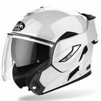 Airoh Rev 19 Moto Motorcycle Motorbike Helmet Gloss White