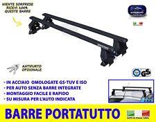 Barre portatutto ALFA GIULIA 2016> ROMEO 4 porte TETTO auto acciaio kit pacchi