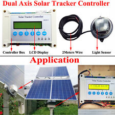 Solar Tracker LCD Controller Dual Axis Electronics Sola Panel Track Sun Tracking
