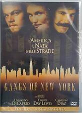 DVD • Gangs of New York DI CAPRIO CAMERON DIAZ DAY-LEWIS ITALIANO