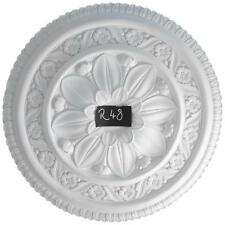 R48 Large Ceiling Rose in Fibrous Plaster - 650mm - COLLECTION ONLY