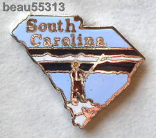 SOUTH CAROLINA USA STATE  VEST JACKET HAT TAC BIKER PIN