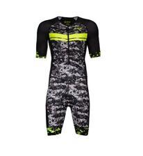Zoot Tri Ltd Short Sleeve Racesuit Size - LARGE HIGH VIZ YELLOW >