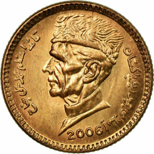 [#686744] Coin, Pakistan, Rupee, 2006, AU(55-58), Bronze, KM:62