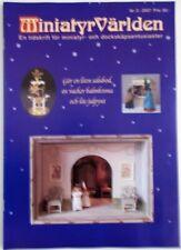 Dollhouse Miniatures Magazine From Sweden: MiniatyrvÄRlden 2007 #3