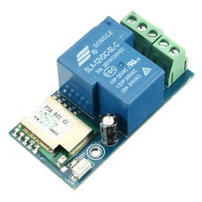12V WIFI Relay Switch Mobile Phone Remote Timing Control For Smart Home Support