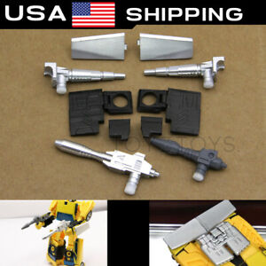 Black set - Weapons/Legs fill/Car Spoilers for Earthrise Spinout Cordon US stock