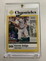 2020 Panini Chronicles Aaron Judge Gold #'d to /10 New York Yankees W/Case PSA📈