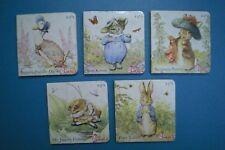 Chick-Fil-A 2009 - Beatrix Potter Board Books - Complete Set of 5