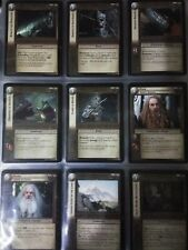 LOTR TCGMines of Moria CompleteFOIL & NON-FOIL SET 244 CARDS