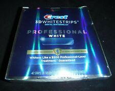 Crest 3D Whitestrips Professional White - 40 Strips