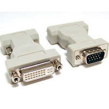 1pcs DVI Female Analog (24+5) to VGA Male (15-pin) Connector Adapter