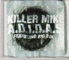 (DN671) Killer Mike, A.D.I.D.A.S. ft Big Boi - 2003 DJ CD