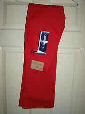 Cerruti JEANS-ITALIA FAB Designer Rosso Jeans Wear w28 l33'' NUOVO CON ETICHETTA