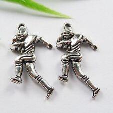 Free Ship 50pcs tibet silver sportsman charms 29x16mm