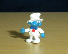 Smurfs Groom Smurf Wedding Cake Topper Prom Figure Vintage Toy Figurine 20413