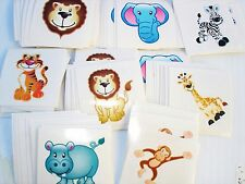 2'' ZOO ANIMAL TATTOOS LOT 0F 144 CARNIVALS, PARTIES, TOYS, FAVORS, VENDING RICO