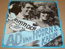 AD VAN HOORN & KARIN - In M'n D.C.10 / Hela, Kom .. ----> TELSTAR TOPPERTJE !!!