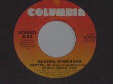 """BARBRA STREISAND -Memory- 7"""" 45"""