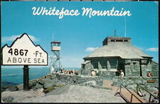 WHITEFACE MOUNTAIN NY Summit House Museum of the Atmosphere Vintage Postcard