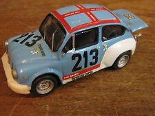**FIAT ABARTH 1000 TC**RALLY- BRESCIA CORSE -N.213- SCALA 1/43 - METAL MODEL CAR