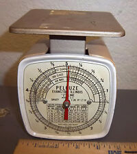 vintage 1965 Pelouze POSTAL SCALE Model Z-5, up to 5 pounds, great collectible