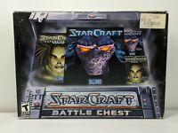 STARCRAFT BATTLE CHEST Blizzard  SUPER BOX PC GAME