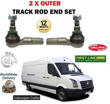 FOR VOLKSWAGEN VW CRAFTER 2.0TD 2.5 TD  2006->NEW 2 X OUTER TRACK ROD END