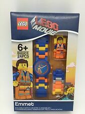 LEGO The Lego Movie Emmet With Mini-Figure Link Kids Watch 8020219 New