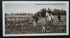 South Berks Foxhounds  Vintage  Photo Card  VGC