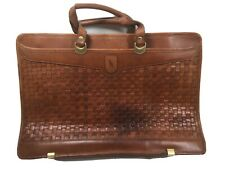 Vintage Hartmann Basketweave Attache Briefcase