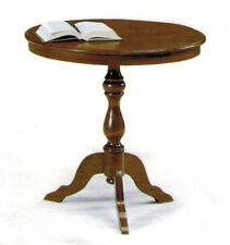 Tavolino tondo arte povera , soggiorno, salotto , legno massello , sala