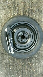 """TOYOTA AYGO 2005-2020 SPACE SAVER 15"""" SPARE WHEEL & TYRE AND JACK KIT FRE P&P"""