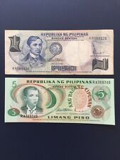 Philippine Peso Various Denomination Bank Notes. Ideal For Collection.