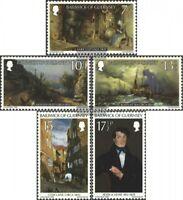 GB-Guernsey 213-217 (kompl.Ausg.) postfrisch 1980 Gemälde