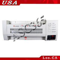"""1All Steel Thermal A3 Hot&Cold 13"""" Laminator Pouch Photo Laminator Laminating"""