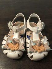 ede21f79686 Authentic Mini Melissa White Unicorn Sandals Size 8