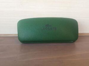 Lacoste Glasses Case green sunglsses  excellent condation