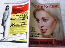 VINTAGE OCTOBER 1967 KNITMASTER' MODERN KNITTING' MAGAZINE