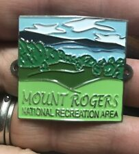 Mount Rogers Virginia Walking Stick Hiking Medallion