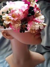 Flower Mask Flower Fairy Costume Halloween Eye Mask With Flowers