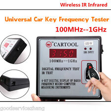 Digital Frequency Tester Wireless IR Infrared Key Wireless Remote Control Tester