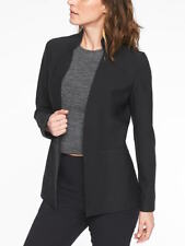 ATHLETA $198  BLACK COSMIC BLAZER JACKET   14