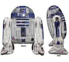 "Star Wars R2D2 Airwalker 38""Jumbo Foil Balloon Birthday Party Supplies Decor"