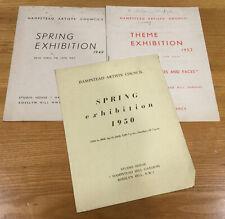 1949 - HAMPSTEAD ARTISTS' COUNCIL.   Ben Nicholson etc.