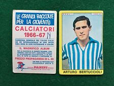 CALCIATORI 1966/67 66/1967 SPAL BERTUCCIOLI Figurina Sticker Panini (NEW) b
