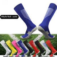 Long Tube Football Socks Over Knee High Non-slip Soccer Sports Socks Baseball